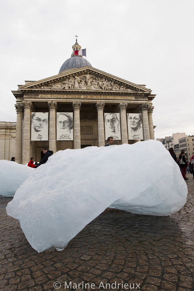NEWS : Ice Watch art exhibition - Paris - 12/08/2015