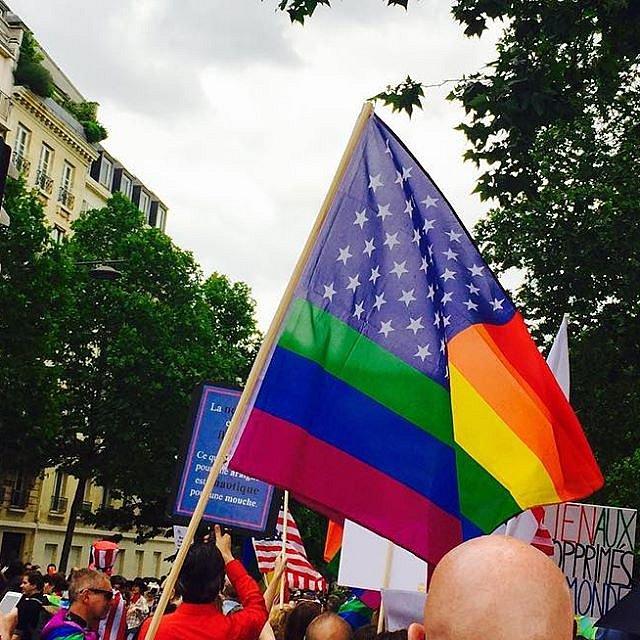 Paris - Pride #westandwithorlando