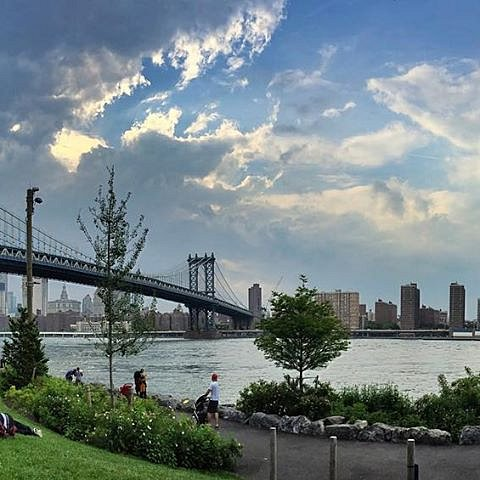 Manhattan bridge #manhattanbridge #newyork
