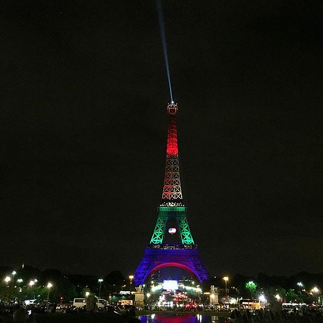 Love is love from Paris #orlando #loveorlando