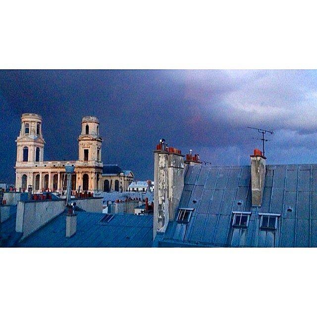 Before the storm #paris #saintsulpice