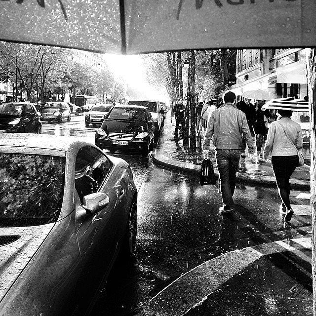 Rainy day II #paris #rain #pluie #street #streetphotography
