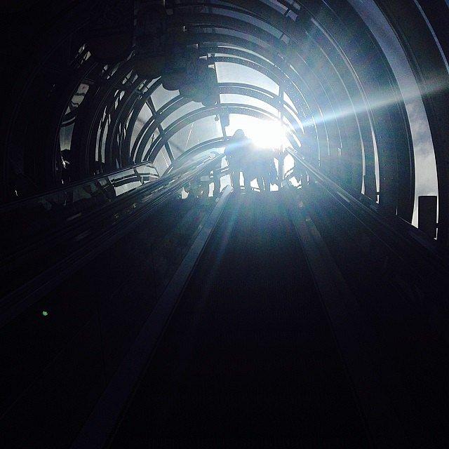 Light #lumière #light #sun #tunnel