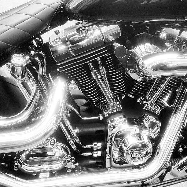 Engine #moto #motorbike #engine #harleydavidson