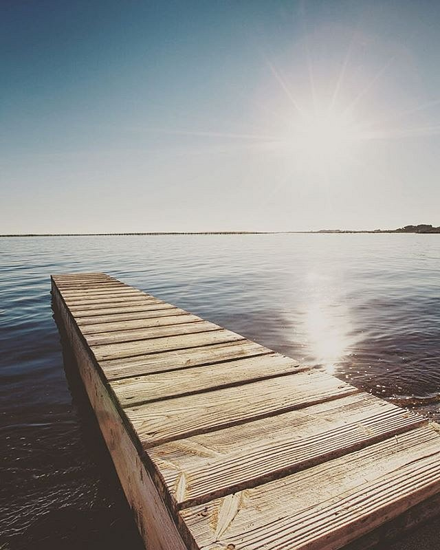 Étang de Thau #etangdethau #etang #occitanie #eau #water #ponton #deck #pond